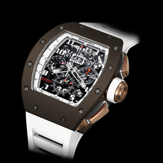 Replica Richard Mille 2015 RM 011 FLYBACK CHRONOGRAPH BROWN CERAMIC Men Watch