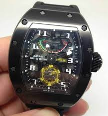 Replica Richard Mille RM 036 all black Men Watch