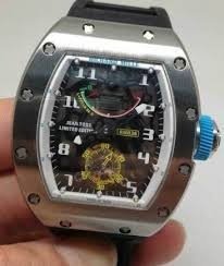 Replica Richard Mille RM 036 all white case Men Watch
