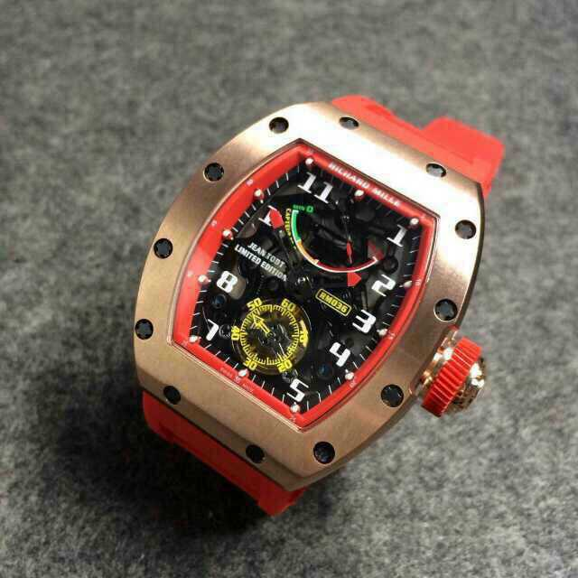 Replica Richard Mille RM-036 Tourbillon G-Sensor Jean Todt RED Men Watch