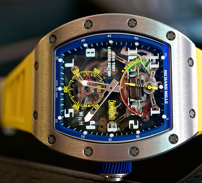 Replica Richard Mille RM-036 Tourbillon G-Sensor Jean Todt Men Watch