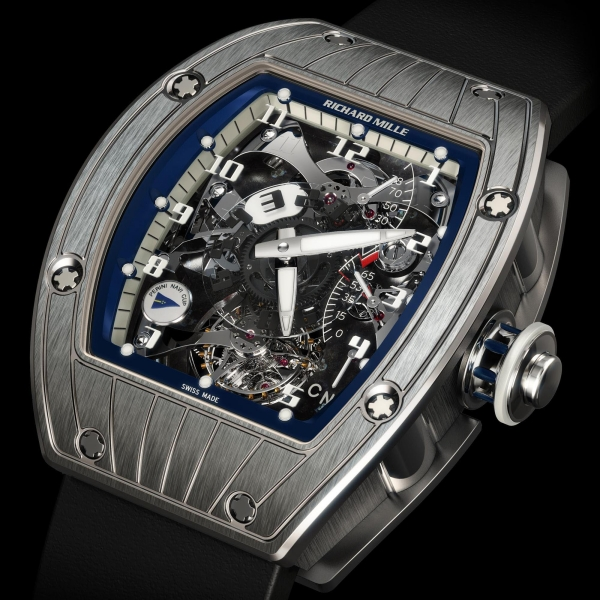 Replica Richard Mille RM 015 Pt Perini Navi 515.48.91 Tourbillon V2 Dual Time Marine Watch