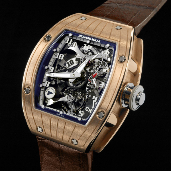 Replica Richard Mille RM 015 RG Perini Navi 515.04.91 Tourbillon V2 Dual Time Marine Watch