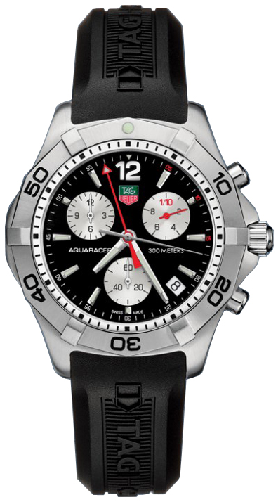 Tag Heuer Aquaracer Men's Chronograph Watch CAF1110.FT8010 sale