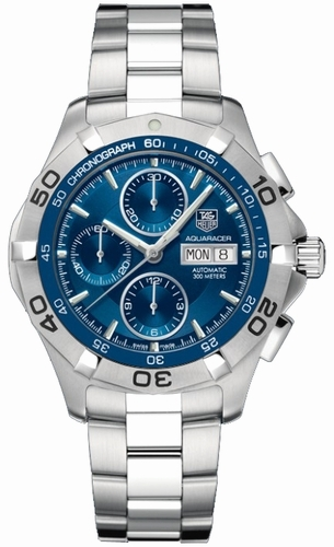 Tag Heuer Aquaracer Chronograph Day Date Men's Watch CAF2012.BA0815 replica