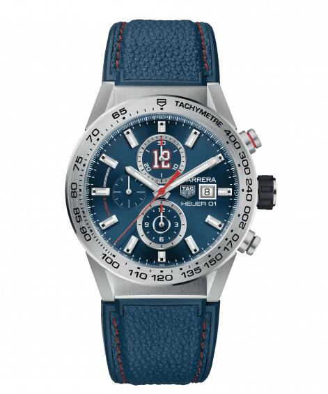 Cheap TAG HEUER CARRERA CALIBRE HEUER 01 AUTOMATIC CHRONOGRAPH CAR201R.FT6120 watch review