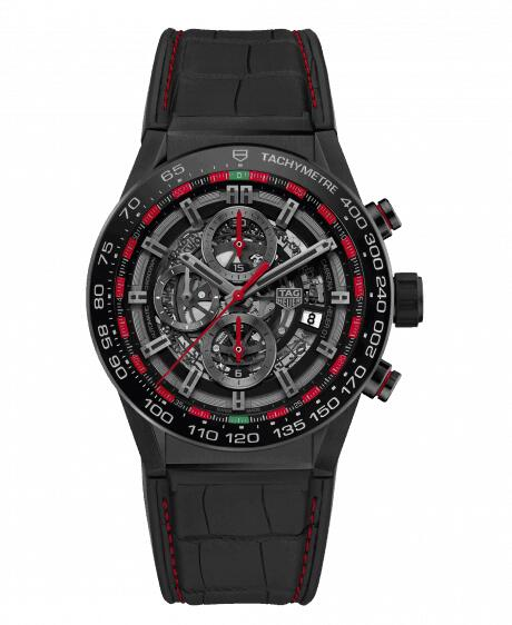Cheap TAG HEUER CARRERA CALIBRE HEUER 01 AUTOMATIC CHRONOGRAPH CAR2A1G.FC6400 watch review