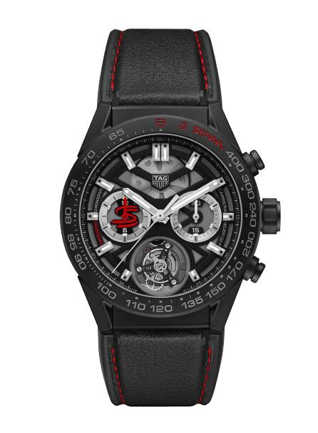 Cheap TAG HEUER CARRERA CALIBRE HEUER02T CHRONOGRAPH CAR5A91.FT6162 watch review