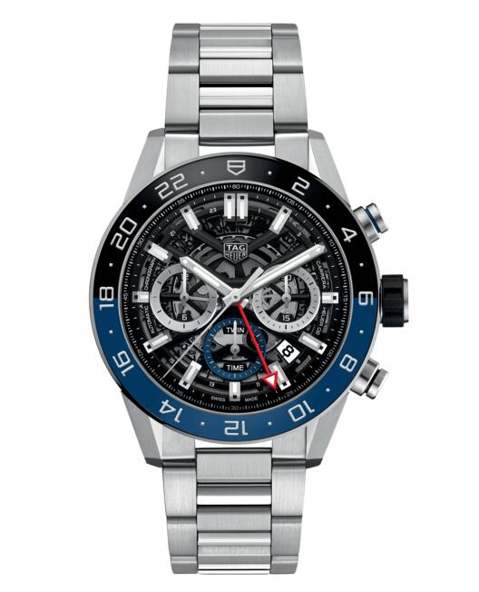 Cheap TAG HEUER CARRERA CALIBRE HEUER 02 AUTOMATIC CHRONOGRAPH CBG2A1Z.BA0658 watch review