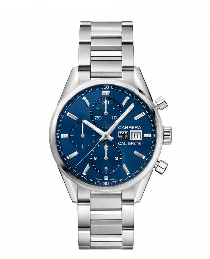Cheap TAG HEUER CARRERA CALIBRE 16 AUTOMATIC CHRONOGRAPH CBK2112.BA0715 watch review