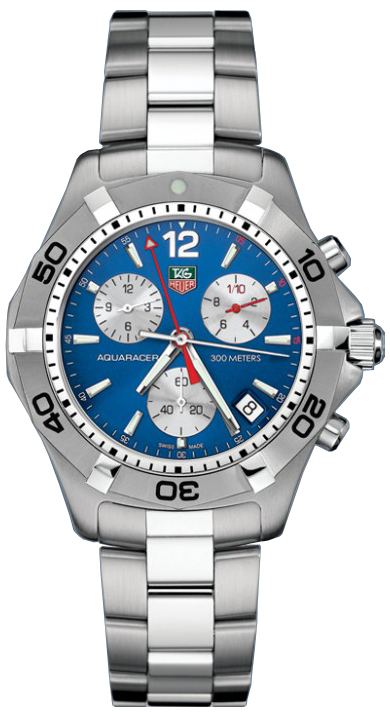 replica Tag Heuer Aquaracer Blue Dial Men's Watch CAF1112.BA0803