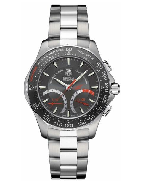 Tag Heuer Aquaracer Calibre S McLaren Mercedes Men's Watch CAF7113.BA0803 review