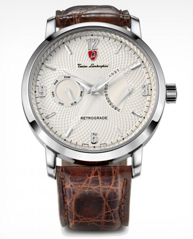 Discount Tonino Lamborghini 1947 MOD. 2504 BEIGE AUTOMATIC RETROGRADE - COD.2504BGTL1947 Men Watch