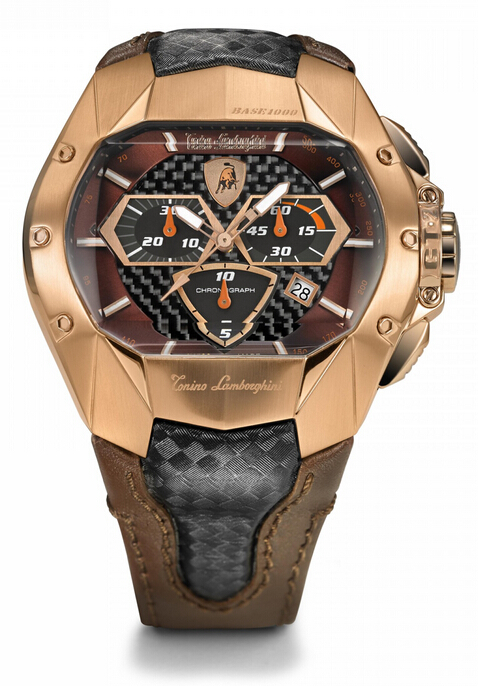 Discount Tonino Lamborghini GT2 MOD. 815RG - COD.815RGTLGT2 Men Watch