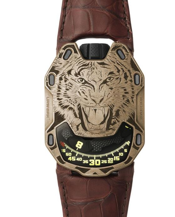 Buy Replica URWERK UR-105 Bronze Tiger watch