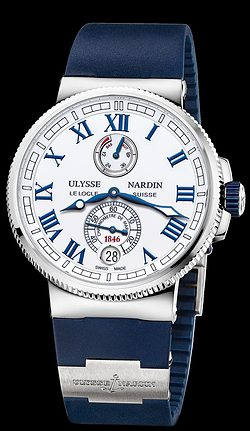Replica Ulysse Nardin Marine Chronometer Manufacture 1183-126-3/40 replica Watch