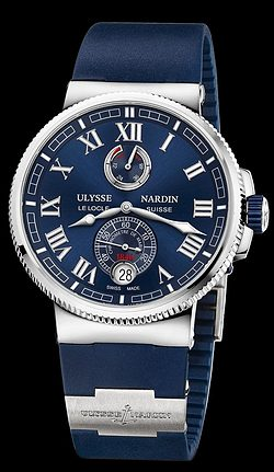 Replica Ulysse Nardin Marine Chronometer Manufacture 1183-126-3/43 replica Watch