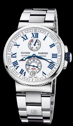 Replica Ulysse Nardin Marine Chronometer Manufacture 1183-126-7M/40 replica Watch
