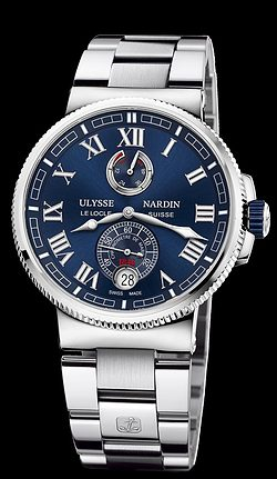 Replica Ulysse Nardin Marine Chronometer Manufacture 1183-126-7M/43 replica Watch