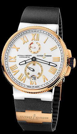 Replica Ulysse Nardin Marine Chronometer Manufacture 1185-122-3/41 replica Watch