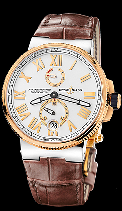 Replica Ulysse Nardin Marine Chronometer Manufacture 1185-122/41 replica Watch