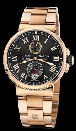Replica Ulysse Nardin Marine Chronometer Manufacture 1186-126-8M/42 replica Watch
