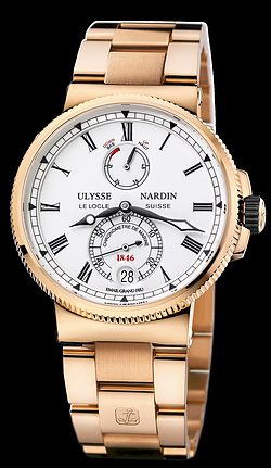Replica Ulysse Nardin Marine Chronometer Manufacture 1186-126-8M/E0 replica Watch