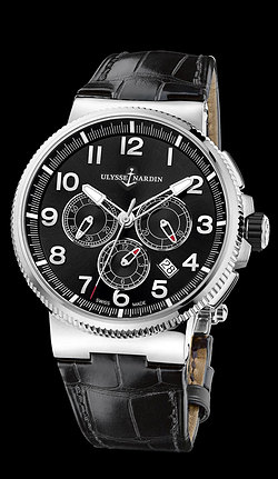 Replica Ulysse Nardin Marine Chronograph Manufacture 1503-150/62 replica Watch