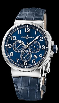 Replica Ulysse Nardin Marine Chronograph Manufacture 1503-150/63 replica Watch