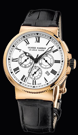 Replica Ulysse Nardin Marine Chronograph Manufacture 1506-150LE replica Watch