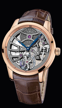 Replica Ulysse Nardin Exceptional Skeleton Tourbillon Manufacture 1702-129 replica Watch