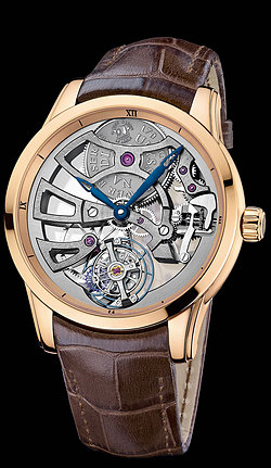 Replica Ulysse Nardin Exceptional Skeleton Tourbillon Manufacture 1706-129 replica Watch