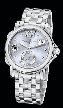 Replica Ulysse Nardin Dual Time Lady 243-22-7/30-07 replica Watch