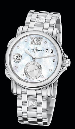 Replica Ulysse Nardin Dual Time Lady 243-22-7/391 replica Watch