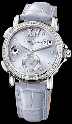 Replica Ulysse Nardin Dual Time Lady 243-22B/30-07 replica Watch