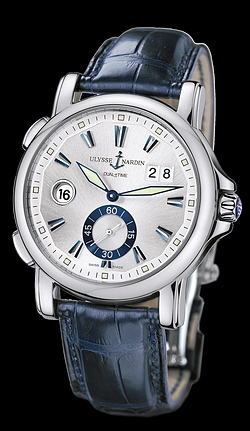 Replica Ulysse Nardin Dual Time 243-55/91 replica Watch