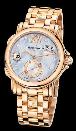 Replica Ulysse Nardin Dual Time Lady 246-22-8/392 replica Watch