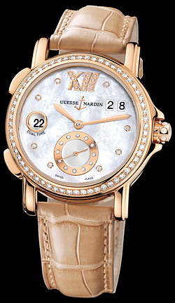 Replica Ulysse Nardin Dual Time Lady 246-22B/391 replica Watch