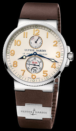 Replica Ulysse Nardin Marine Chronometer 41mm 263-66-3/60 replica Watch