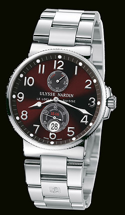 Replica Ulysse Nardin Marine Chronometer 41mm 263-66-7/62 replica Watch