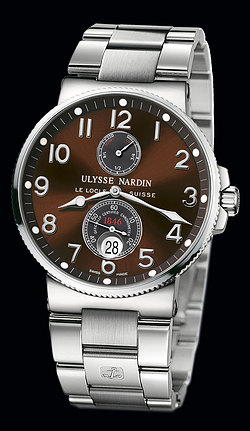 Replica Ulysse Nardin Marine Chronometer 41mm 263-66-7M/625 replica Watch