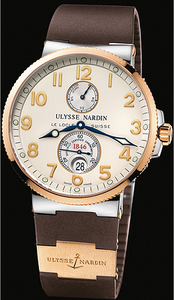 Replica Ulysse Nardin Marine Chronometer 41mm 265-66-3/60 replica Watch