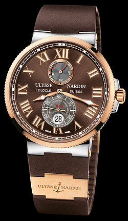 Replica Ulysse Nardin Marine Chronometer 43mm 265-67-3/45 replica Watch