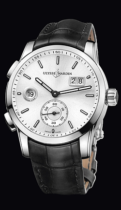 Replica Ulysse Nardin Dual Time Manufacture 3343-126/91 replica Watch