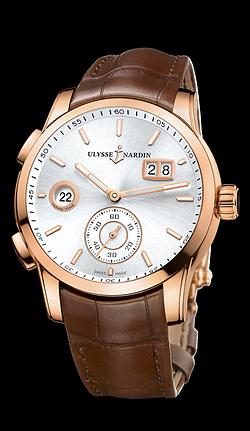 Replica Ulysse Nardin Dual Time Manufacture 3346-126/91 replica Watch