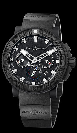 Replica Ulysse Nardin Black Sea Chronograph 353-92-3C replica Watch