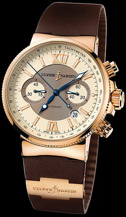 Replica Ulysse Nardin Marine Chronograph 356-66-3/354 replica Watch