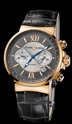 Replica Ulysse Nardin Marine Chronograph 356-66/319 replica Watch