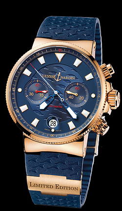 Replica Ulysse Nardin Marine Chronograph 356-68LE-3 replica Watch