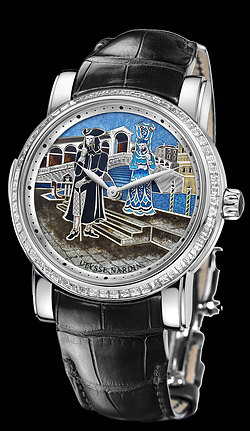 Replica Ulysse Nardin Carnival of Venice Minute Repeater 719-63BAG/VEN replica Watch